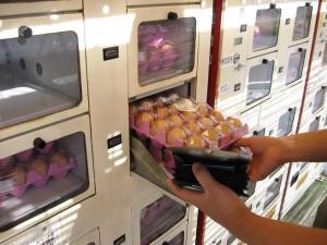 Le distributeur d'oeufs